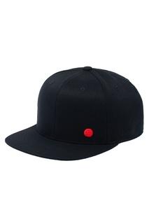 Черная бейсболка с яркой вышивкой Zasport