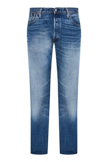 Прямые джинсы с потертостями 501® Levi's®ORIGINAL FIT Levis®