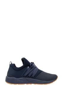 Синие комбинированные кроссовки Arkk