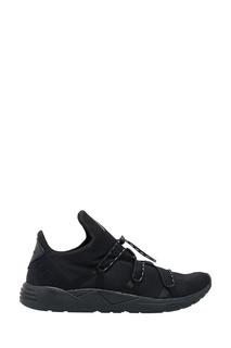 Черные кроссовки из текстиля Arkk