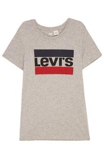 Серая меланжевая футболка THE PERFECT TEE Levis®