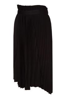 Асимметричная плиссированная юбка Balenciaga