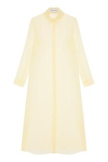 Длинная шелковая блузка Chapurin