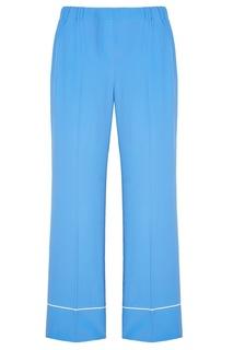 Голубые широкие брюки No.21