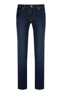 Прямые синие джинсы 714 Straight Levis®