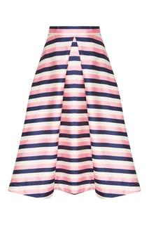 Юбка-миди в розовую полоску T Skirt