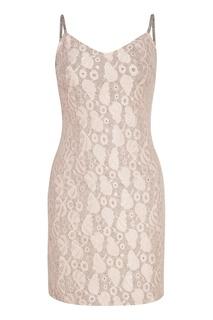 Платье-комбинация с кружевом T Skirt