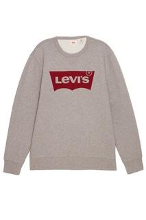 Серый свитшот с эмблемой GRAPHIC CREW B Levis®