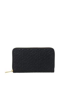 Кожаный кошелек с монограммами Loewe
