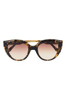 Черепаховые солнцезащитные очки Italia Independent