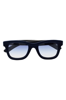 Синие очки с бархатной отделкой Italia Independent
