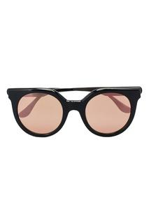 Черные круглые очки Italia Independent