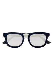 Синие очки с зеркальными линзами Italia Independent