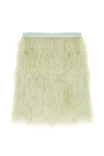 Юбка-мини с перьями T Skirt