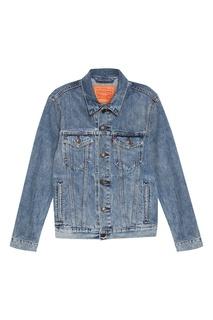 Голубая джинсовая куртка THE TRUCKER JACKET Levis®
