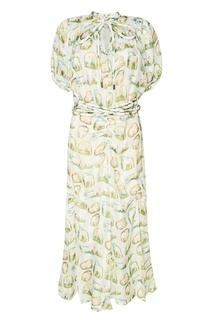 Платье-рубашка с принтом Carven