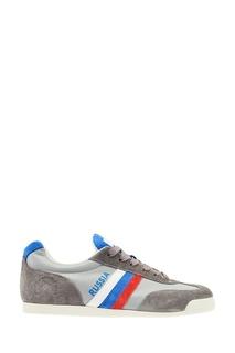 Кроссовки с цветной полоской Zasport