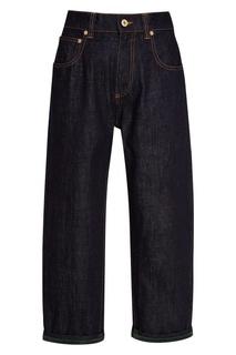 Широкие укороченные джинсы Carven