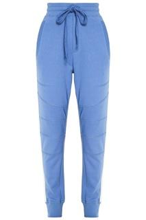 Голубые брюки с контрастными лампасами Zasport