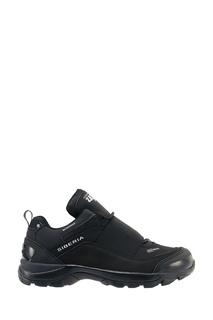 Черные кроссовки с эластичной вставкой Zasport