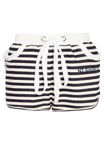 Хлопковые шорты в полоску Natasha Zinko