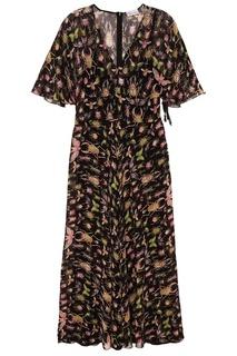Шелковое платье с мотыльками RED Valentino