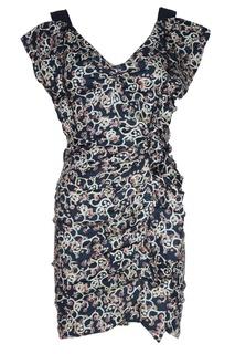 Льняное платье с воланами Isabel Marant Etoile