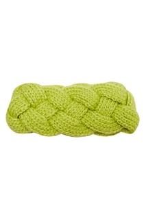 Плетеная повязка на голову Knittedkiss