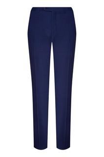 Синие шерстяные брюки Canali