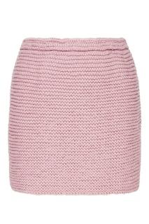 Сиреневая мини-юбка Knittedkiss