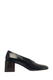 Черные кожаные туфли Sully Acne Studios