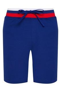 Синие шорты с олимпийской эмблемой Zasport