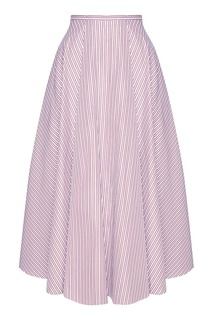 Хлопковая юбка в полоску Rochas