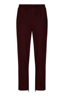 Шерстяные бордовые брюки Daily Paper
