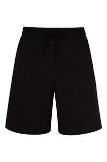 Черные шорты с лампасами Zasport