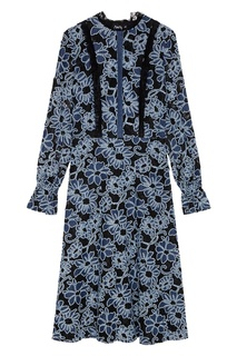 Кружевное платье с цветами ЛИ ЛУ