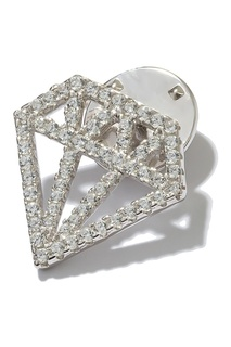 Брошь в виде бриллианта Exclaim