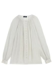 Драпированная блузка с пуговицами Alena Akhmadullina