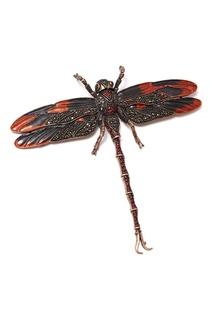 Брошь-стрекоза с кристаллами Herald Percy