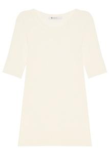 Белый джемпер с короткими рукавами Alexander Wang