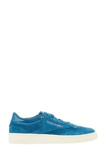 Синие замшевые кроссовки Club C 85 x Montana Cans Reebok