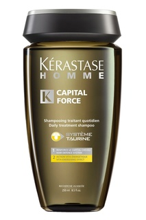 Шампунь-Ванна Capital Force Энергетический, 250 ml Kérastase