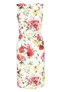 Платье с цветочным принтом Dolce & Gabbana
