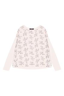 Комбинированная блузка с принтом Max Mara Weekend