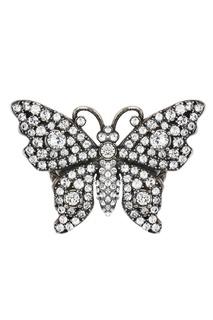 Кольцо-бабочка с кристаллами Gucci