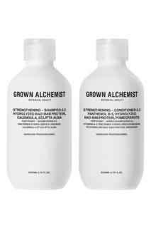 Набор для волос укрепляющий, 200 ml + 200 ml Grown Alchemist