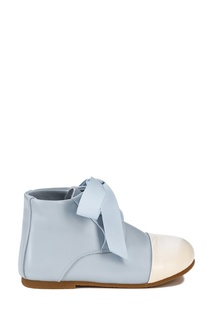 Голубые ботинки с контрастным носком Age of Innocence