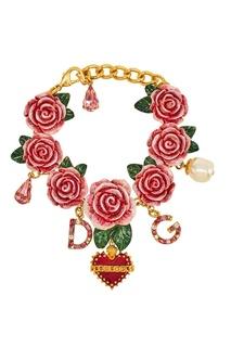 Браслет с розами Dolce & Gabbana