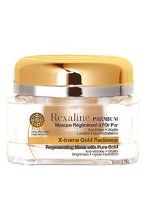 Антивозрастная омолаживающая маска для лица с частицами золота, 50 ml Rexaline