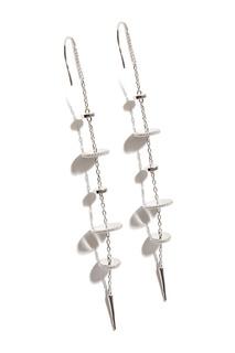 Серебряные серьги с подвесками Exclaim